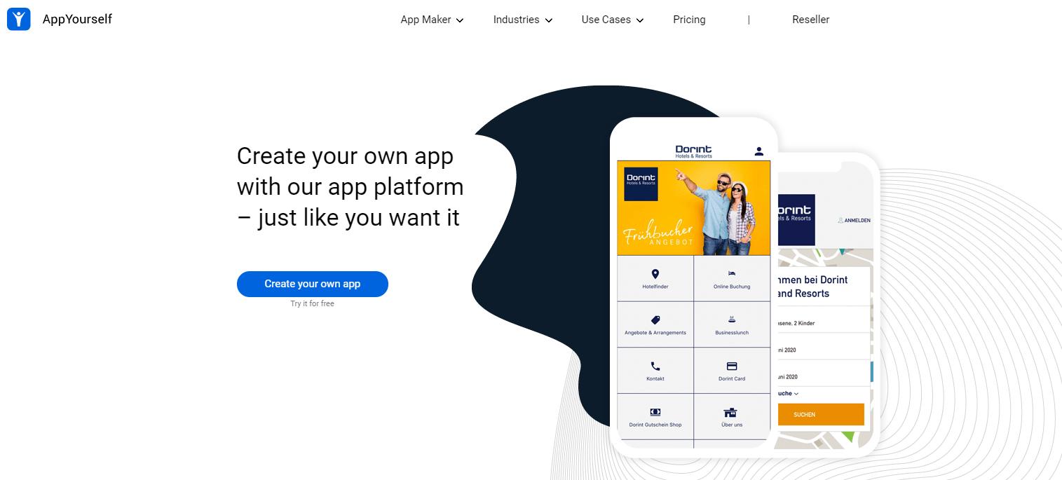appyourself app bouwer