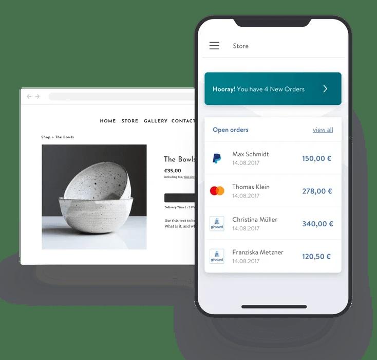 jimdo webshop betaalmethoden